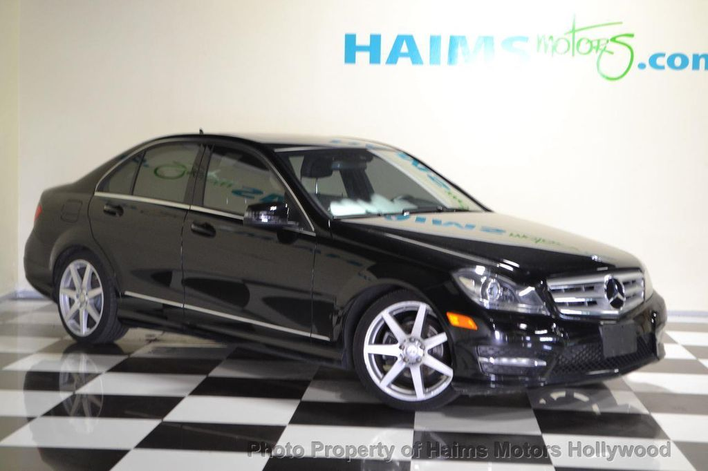 2012 used mercedes-benz c-class 4dr sedan c300 sport 4matic at haims