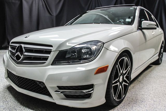 2012 Mercedes Benz C Class 4dr Sedan C 300 Sport 4MATIC