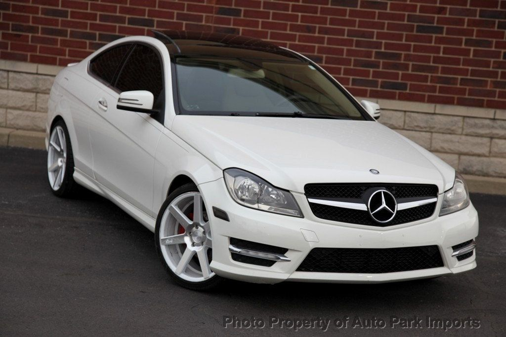 2012 Used Mercedes-Benz C-Class C 250 2dr Coupe C250 RWD ...