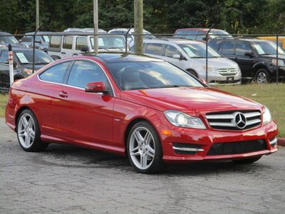 2012 Mercedes-Benz C-Class C 250 2dr Coupe C250 RWD - Click to see full-size photo viewer