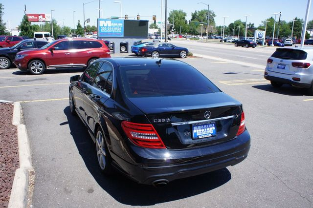 2012 Used Mercedes Benz C Class C 250 4dr Sedan C250 Sport Rwd At Maaliki Motors Serving Aurora Denver Co Iid 19172984
