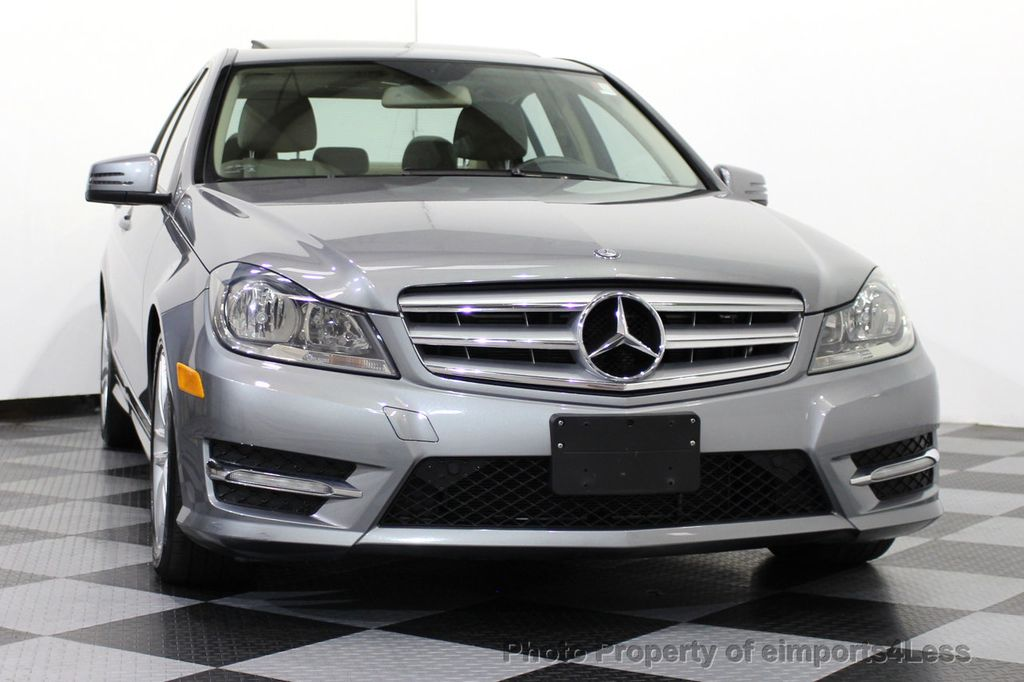2012 used mercedes benz c class certified c300 4matic for Mercedes benz c300 coupe used