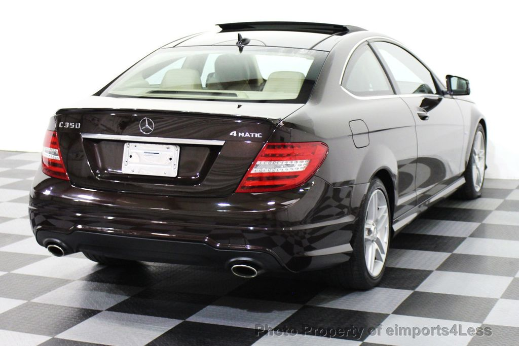 2012 used mercedes benz certified c350 4matic amg coupe for 2010 mercedes benz c300 price
