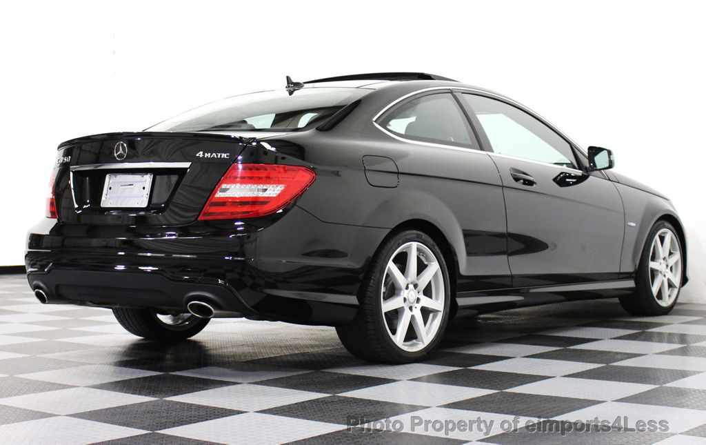 2012 used mercedes benz certified c350 4matic awd coupe