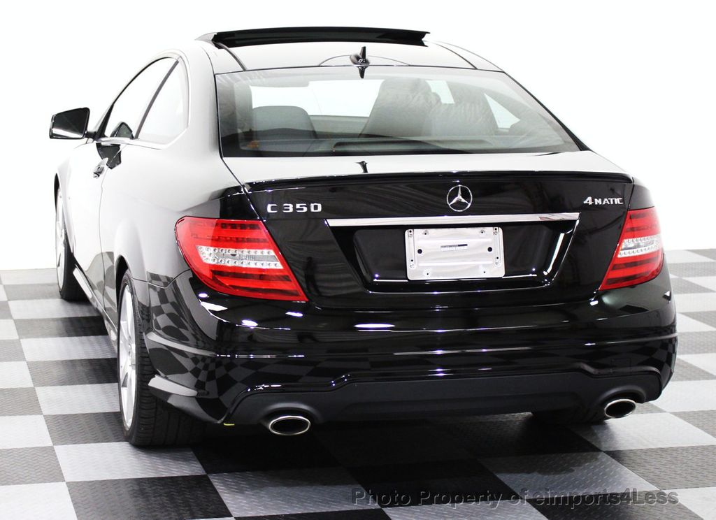 2012 used mercedes benz certified c350 4matic awd coupe for Mercedes benz certified used cars