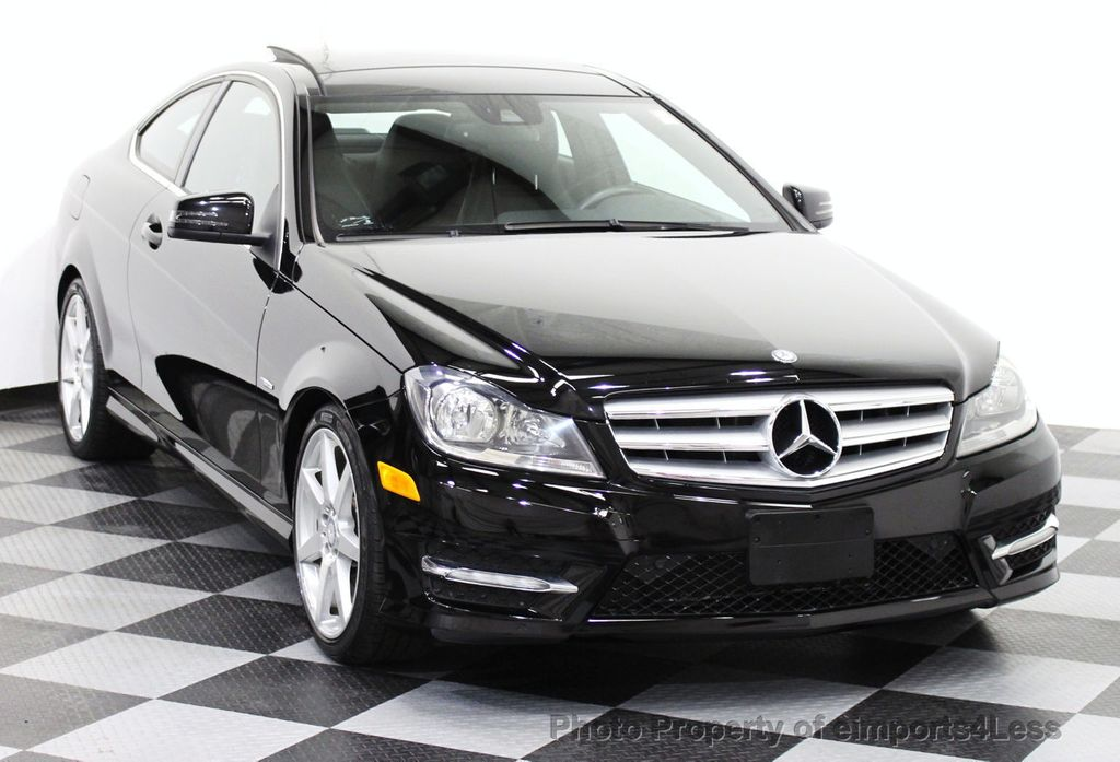 2012 used mercedes benz certified c350 4matic awd coupe for Mercedes benz cpo