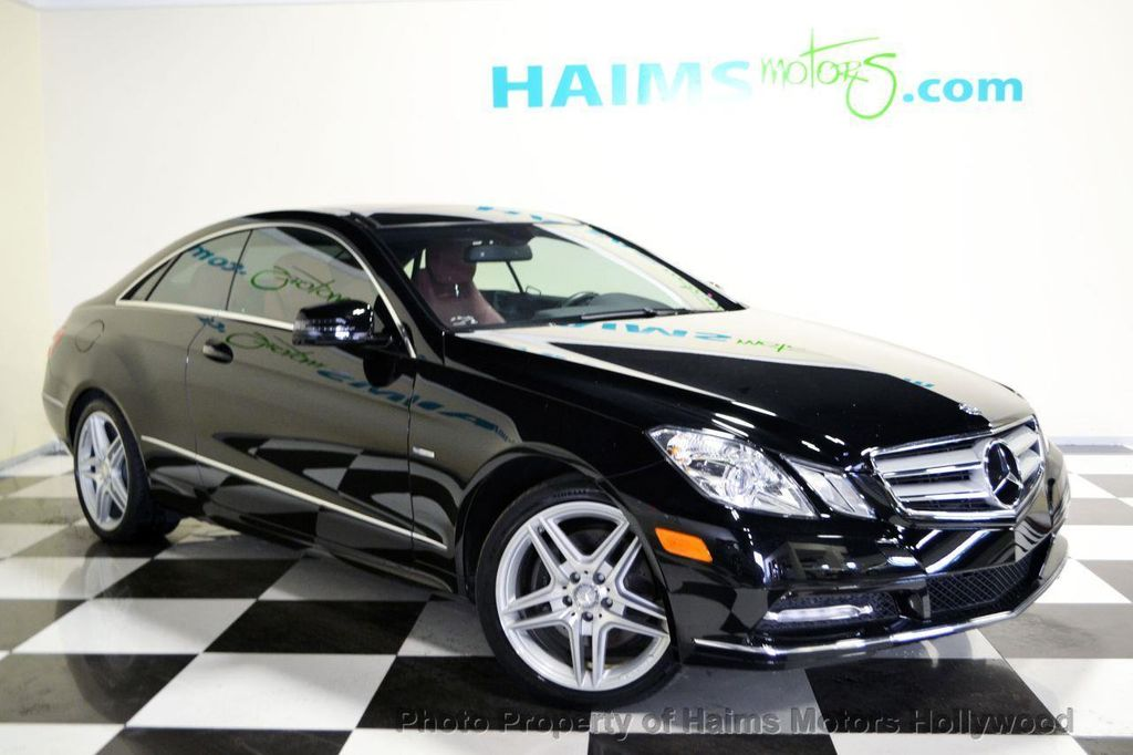 2012 used mercedes benz e class 2dr coupe e350 rwd at haims motors serving fort lauderdale. Black Bedroom Furniture Sets. Home Design Ideas