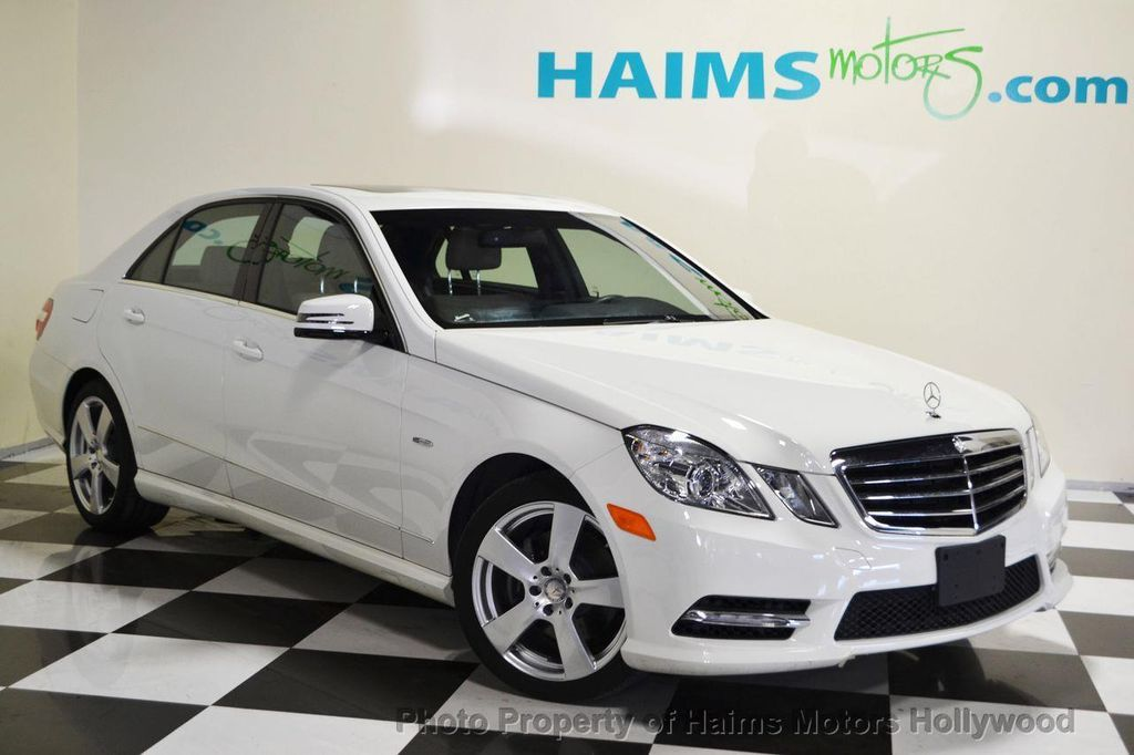 2012 Used Mercedes Benz E Class 4dr Sedan E350 Sport