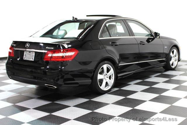 2012 Used MercedesBenz EClass CERTIFIED E350 4Matic AWD SPORT