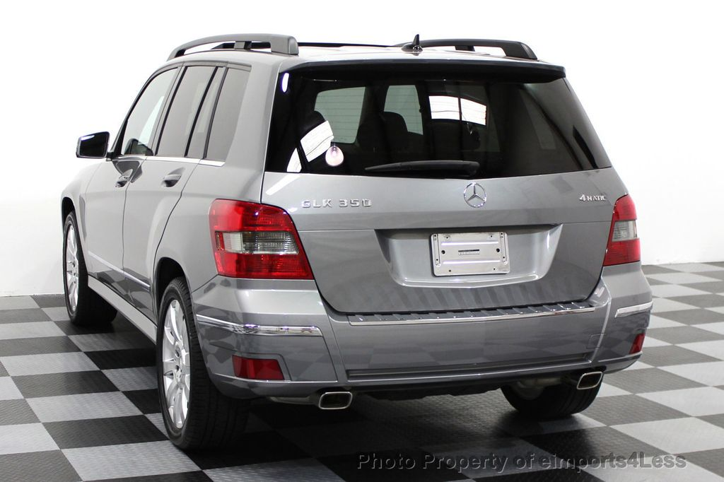 2012 mercedes benz glk certified glk350 4matic awd suv camera navigation 15479879