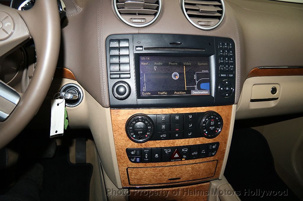 sirius radio controll mercedes ml