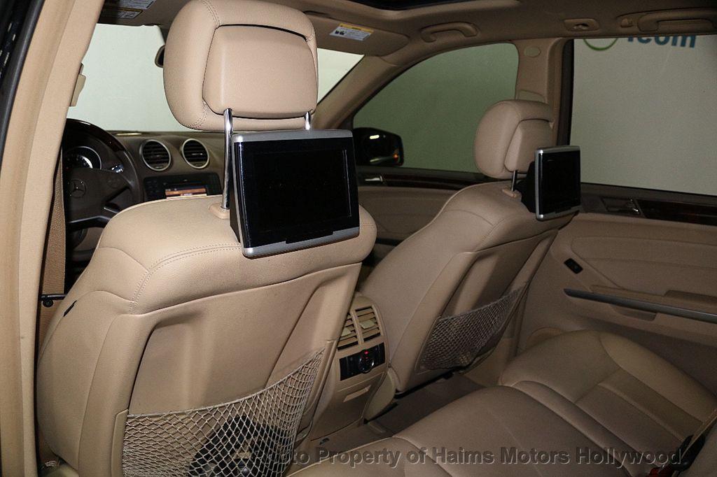 2012 Mercedes-Benz GL-Class GL450 4MATIC - 17514497 - 23