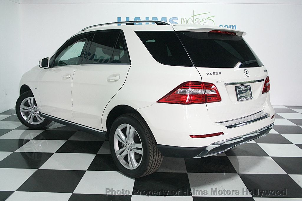 2012 used mercedes benz m class 4matic 4dr ml350 at haims