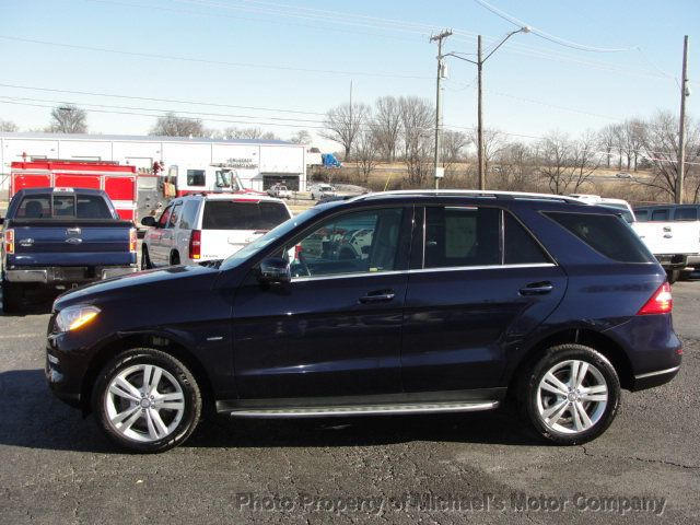 2012 Used Mercedes Benz M Class 4matic 4dr Ml 350 At