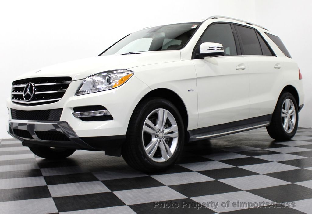 2017 Mercedes Benz M Cl Certified Ml350 Bluetec Sel 4matic Awd Suv Cam