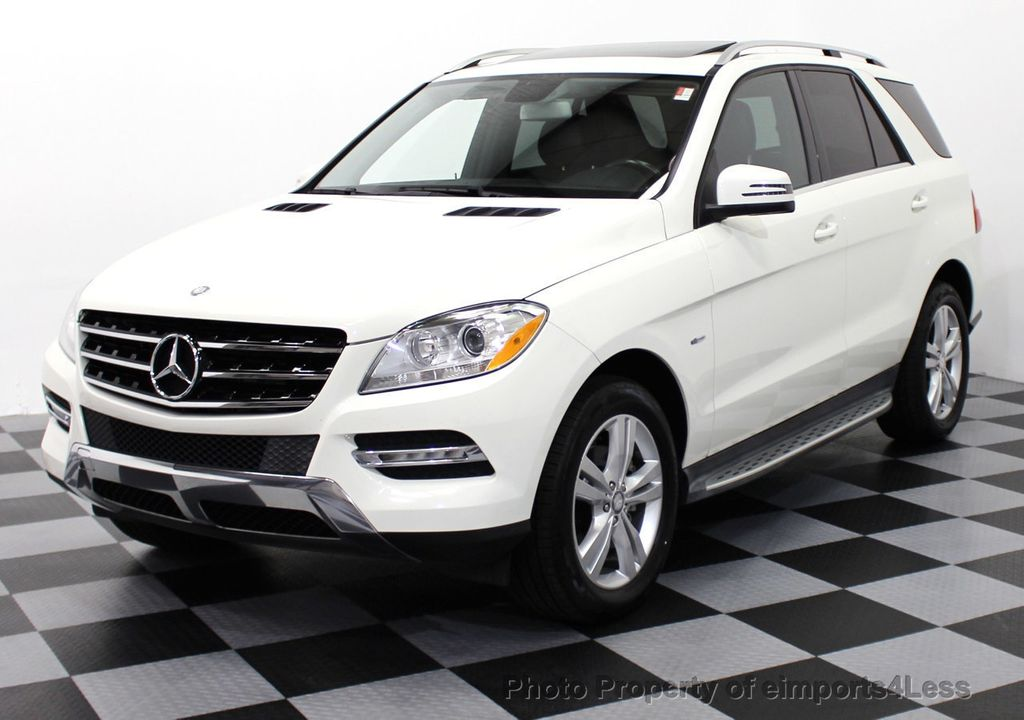 2012 used mercedes benz m class certified ml350 bluetec for Mercedes benz m class mercedes suv