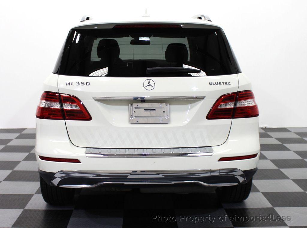 2017 Mercedes Benz M Cl Certified Ml350 Bluetec Sel 4matic Awd Suv Cam