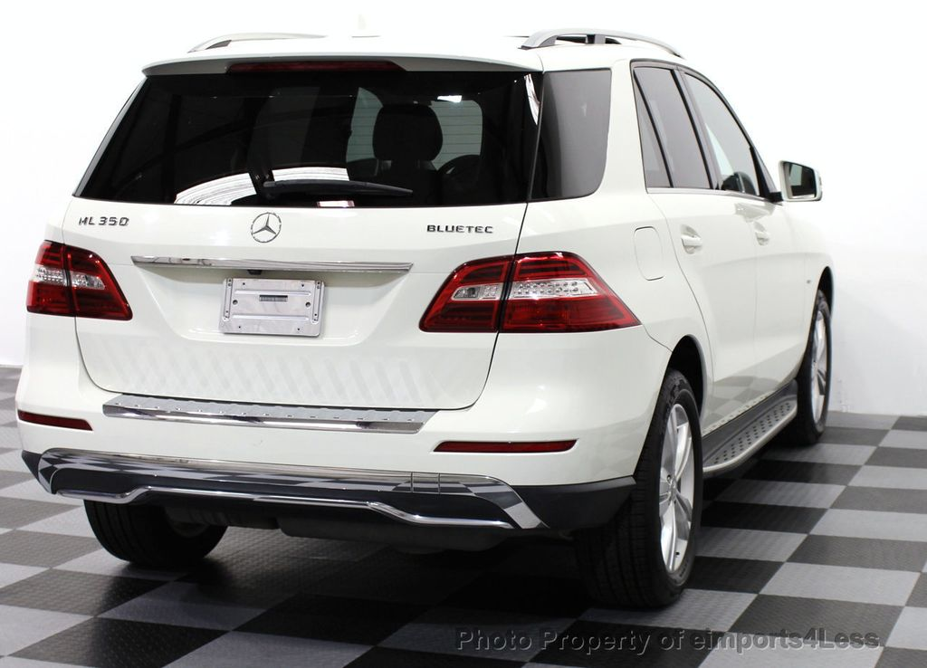2012 used mercedes benz m class certified ml350 bluetec for Mercedes benz used vehicles