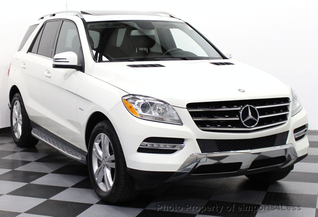 2012 used mercedes benz m class certified ml350 bluetec for White mercedes benz suv
