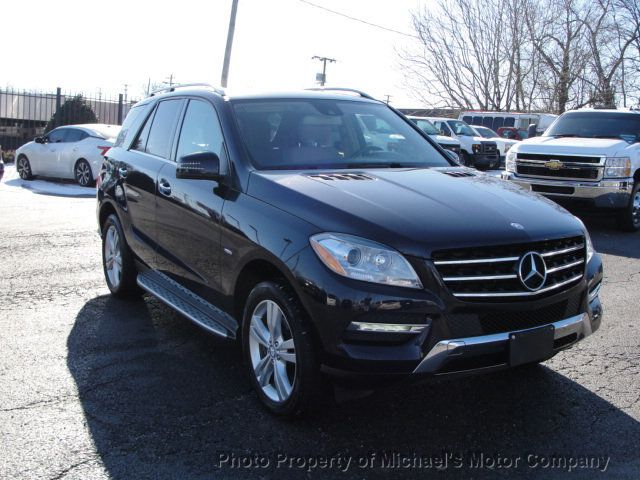 2012 Mercedes-Benz M-Class ML 350, 4MATIC, LEATHER, SUNROOF, NAV, BACK UP CAM, HEATED SEATS - 17226835 - 1