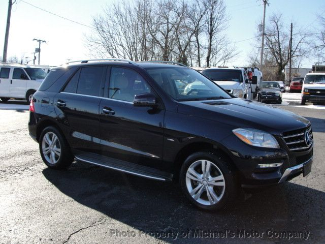 2012 Mercedes-Benz M-Class ML 350, 4MATIC, LEATHER, SUNROOF, NAV, BACK UP CAM, HEATED SEATS - 17226835 - 2