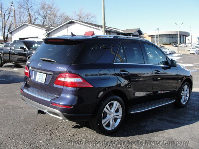 2012 Mercedes-Benz M-Class ML 350, 4MATIC, LEATHER, SUNROOF, NAV, BACK UP CAM, HEATED SEATS - 17226835 - 4