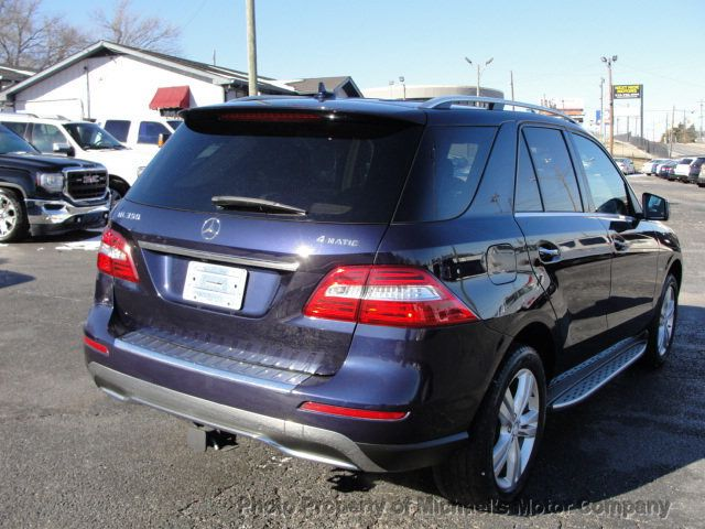 2012 Mercedes-Benz M-Class ML 350, 4MATIC, LEATHER, SUNROOF, NAV, BACK UP CAM, HEATED SEATS - 17226835 - 5