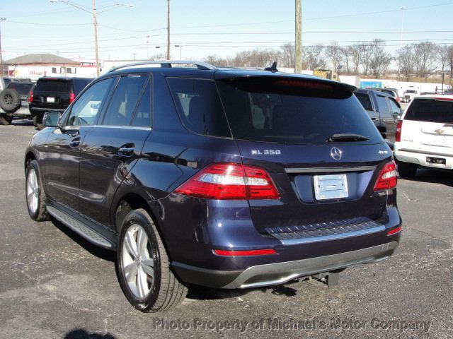 2012 Mercedes-Benz M-Class ML 350, 4MATIC, LEATHER, SUNROOF, NAV, BACK UP CAM, HEATED SEATS - 17226835 - 7