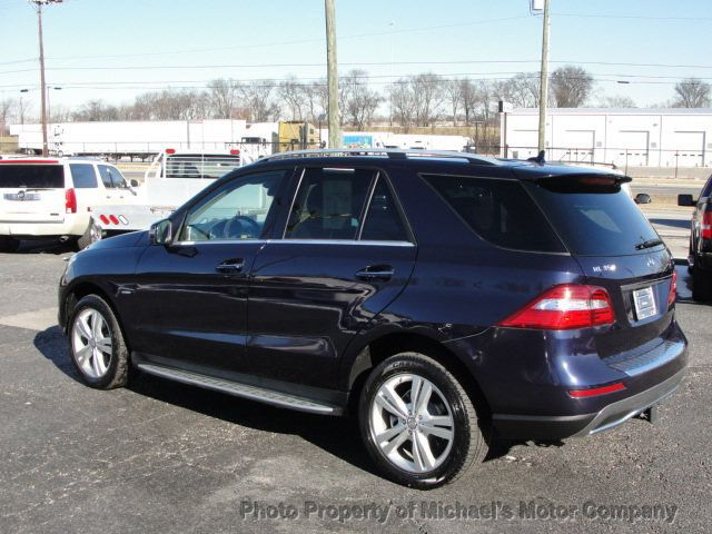 2012 Mercedes-Benz M-Class ML 350, 4MATIC, LEATHER, SUNROOF, NAV, BACK UP CAM, HEATED SEATS - 17226835 - 8