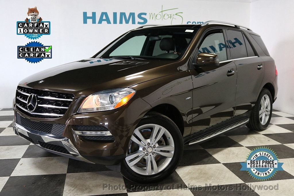 2012 Mercedes-Benz M-Class ML350 BlueTEC - 18574874 - 0