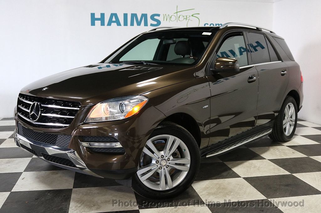 2012 Mercedes-Benz M-Class ML350 BlueTEC - 18574874 - 1