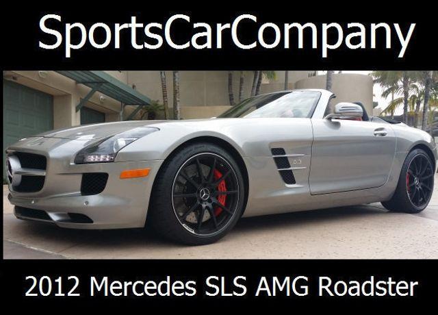2012 Mercedes-Benz SLS AMG 2dr Roadster SLS AMG - 15792314 - 1