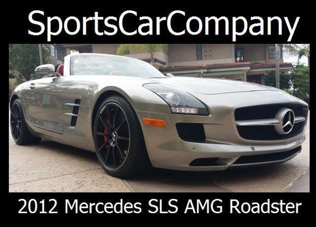 2012 Mercedes-Benz SLS AMG 2dr Roadster SLS AMG - 15792314 - 2