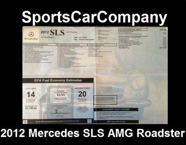2012 Mercedes-Benz SLS AMG 2dr Roadster SLS AMG - 15792314 - 52