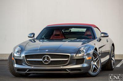 2012 Mercedes-Benz 2dr Roadster SLS AMG Convertible