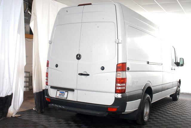 2012 used mercedes benz sprinter cargo vans 3500 170 ext for Mercedes benz work van commercial