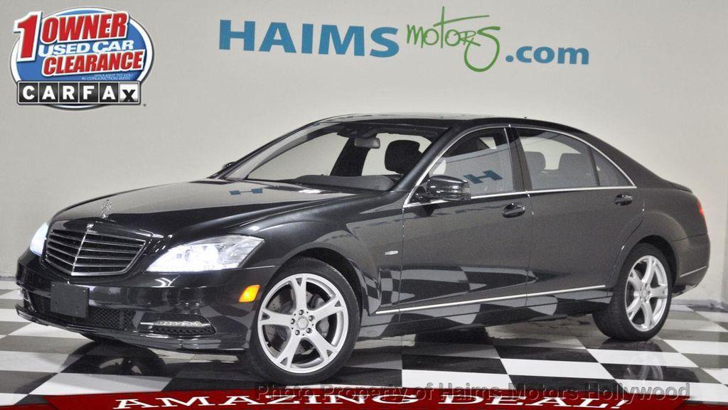 2012 used mercedes benz s class 4dr sedan s550 4matic at haims motors serving fort lauderdale. Black Bedroom Furniture Sets. Home Design Ideas