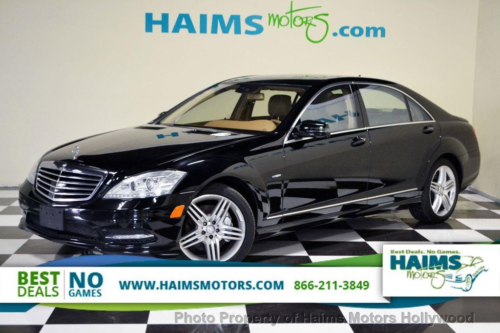 2012 Used Mercedes Benz S Class 4dr Sedan S550 4matic At