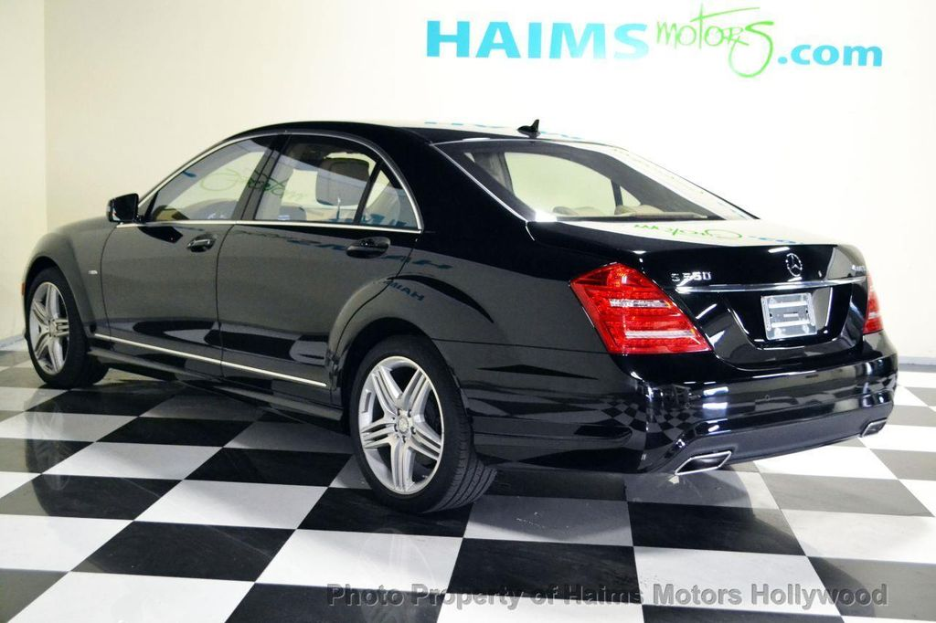 Awesome 2012 Mercedes Benz S Class 4dr Sedan S550 4MATIC   13855239   5