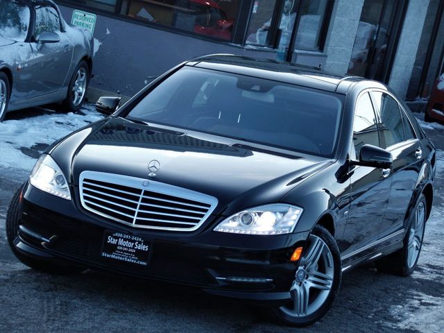 2012 Mercedes-Benz S-Class 4dr Sedan S 550 4MATIC - Click to see full-size photo viewer