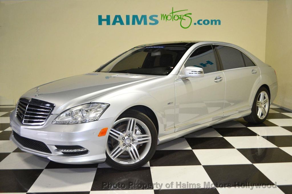 2012 used mercedes benz s class 4dr sedan s550 rwd at for Used s550 mercedes benz