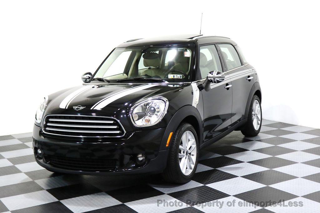 2012 MINI Cooper Countryman CERTIFIED  COUNTRYMAN 6 SPEED PANO NAVIGATION - 17103140 - 0