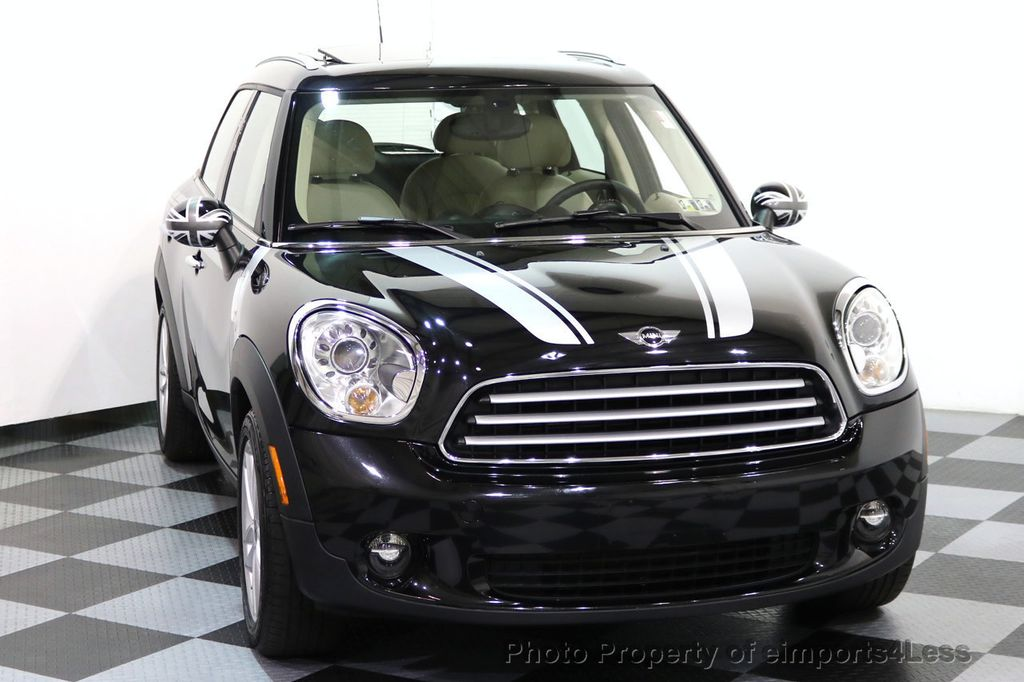 2012 MINI Cooper Countryman CERTIFIED  COUNTRYMAN 6 SPEED PANO NAVIGATION - 17103140 - 14