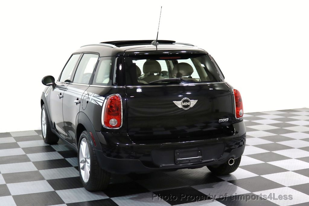 2012 MINI Cooper Countryman CERTIFIED  COUNTRYMAN 6 SPEED PANO NAVIGATION - 17103140 - 15