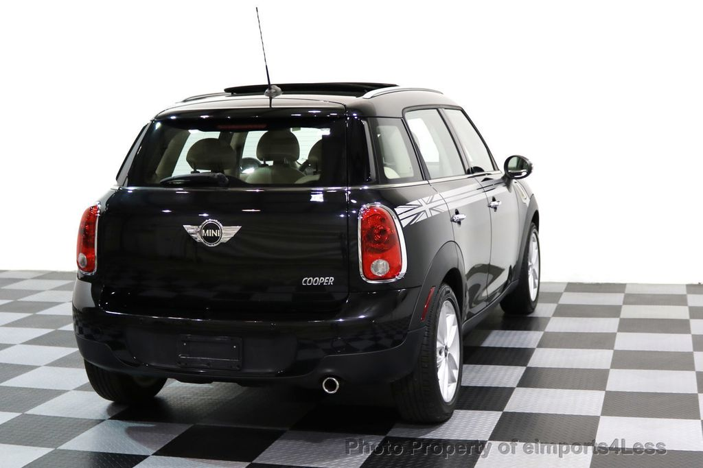 2012 MINI Cooper Countryman CERTIFIED  COUNTRYMAN 6 SPEED PANO NAVIGATION - 17103140 - 17