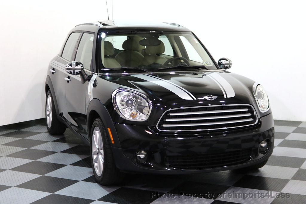 2012 MINI Cooper Countryman CERTIFIED  COUNTRYMAN 6 SPEED PANO NAVIGATION - 17103140 - 1