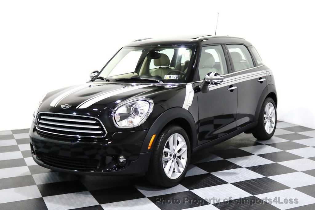 2012 MINI Cooper Countryman CERTIFIED  COUNTRYMAN 6 SPEED PANO NAVIGATION - 17103140 - 24