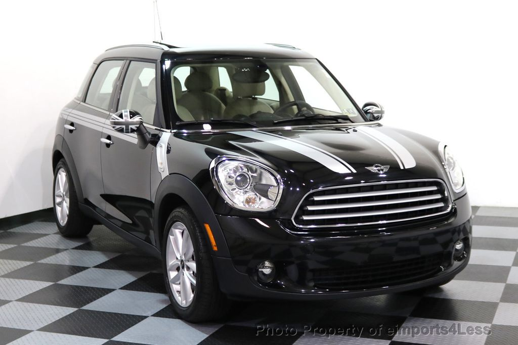 2012 MINI Cooper Countryman CERTIFIED  COUNTRYMAN 6 SPEED PANO NAVIGATION - 17103140 - 25