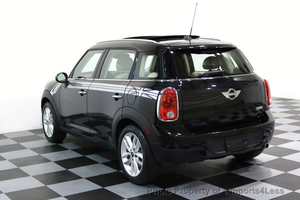 2012 MINI Cooper Countryman CERTIFIED  COUNTRYMAN 6 SPEED PANO NAVIGATION - 17103140 - 26