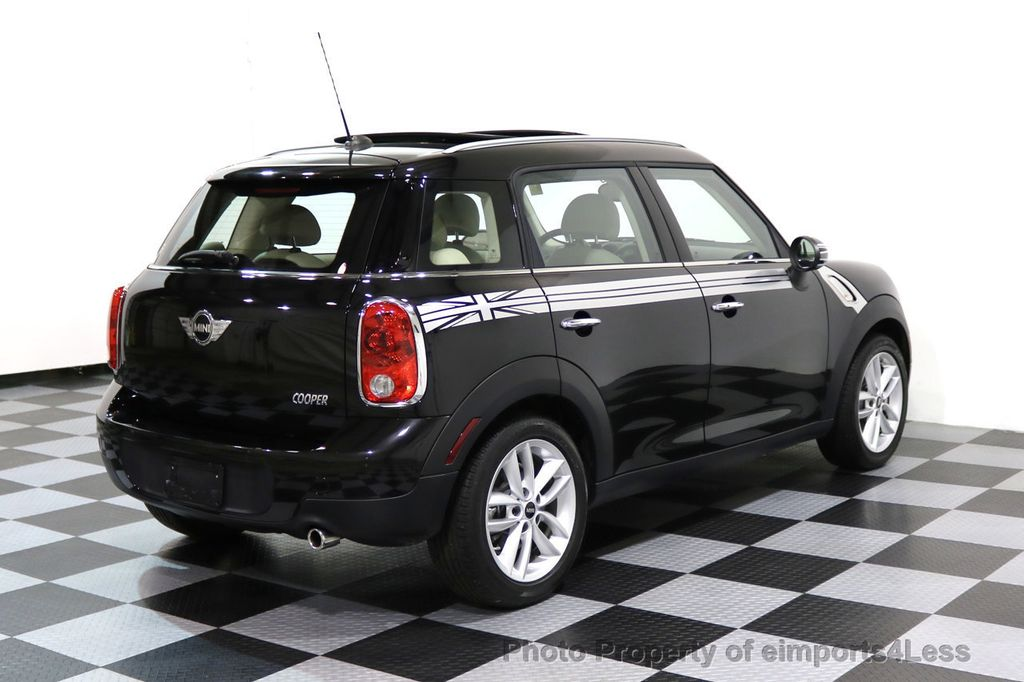 2012 MINI Cooper Countryman CERTIFIED  COUNTRYMAN 6 SPEED PANO NAVIGATION - 17103140 - 28